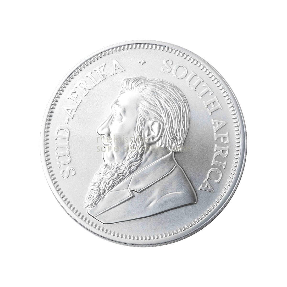 Krügerrand Silber Silbermünzen Rückseite