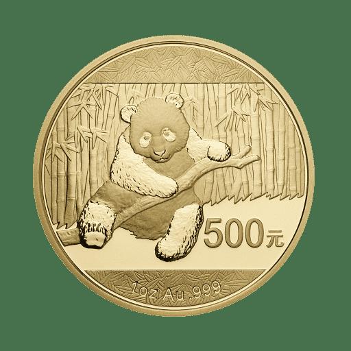 China Panda Goldmünze 1 Unze B