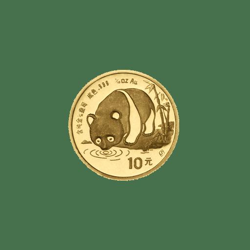 China Panda Goldmünze Zehntel Unze