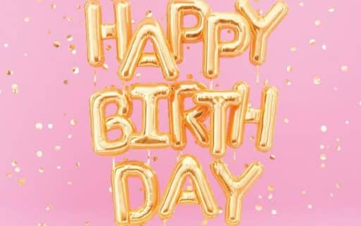 Happy Birthday 3 1