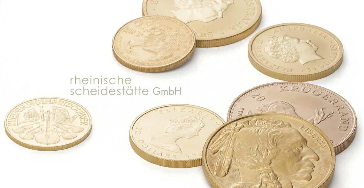 Goldmünzen kaufen Münster
