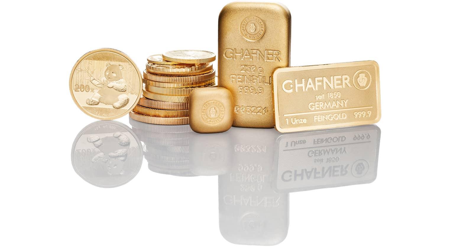 Anonymes Tafelgeschäft Gold kaufen