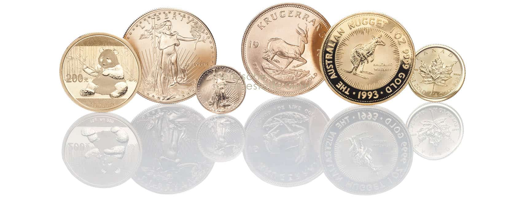 Goldmünzen kaufen anonym