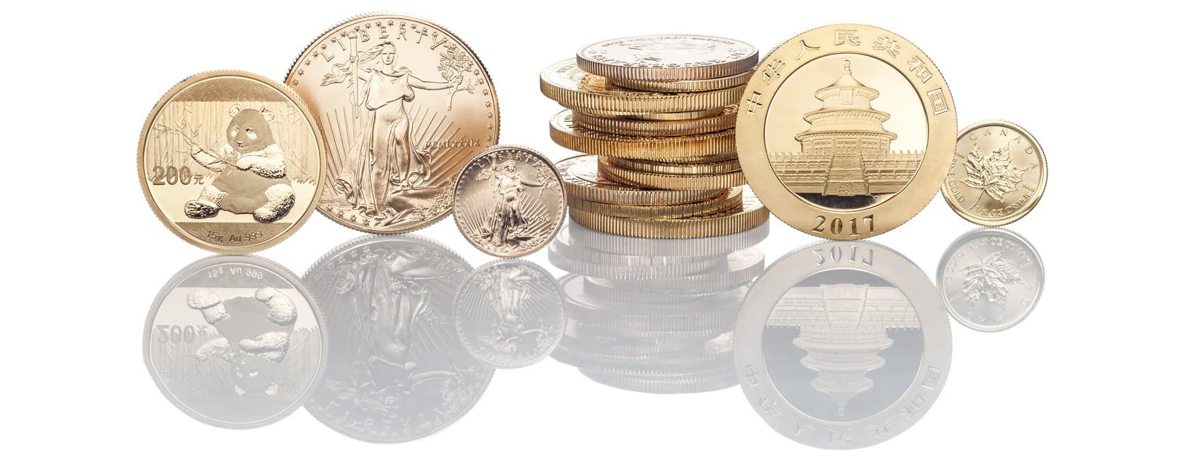 Goldmünzen Vergleich anonym