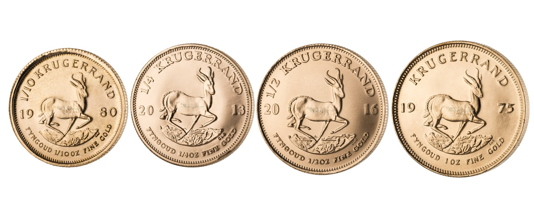 Kruegerrand Goldmünzen kaufen