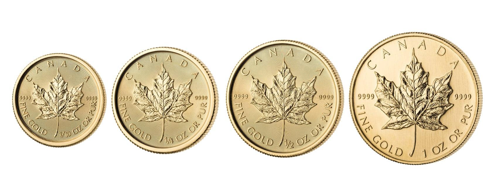Maple Leaf Goldmünzen kaufen