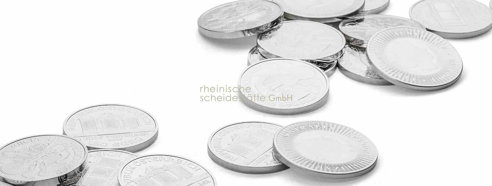 Silbermünzen Sammler