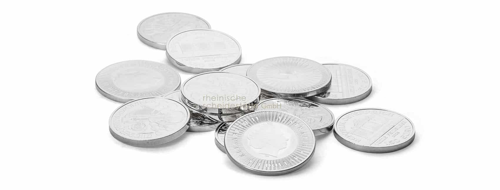 Silbermünzen Shop