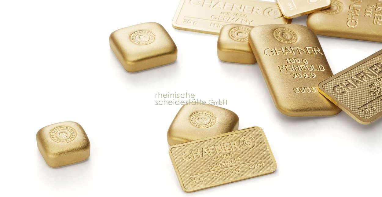 Gold verkaufen - Goldbarren