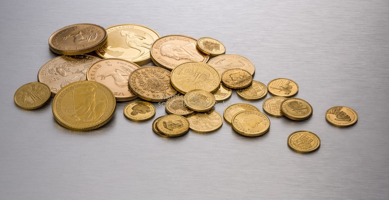 Gold verkaufen - Goldmünzen