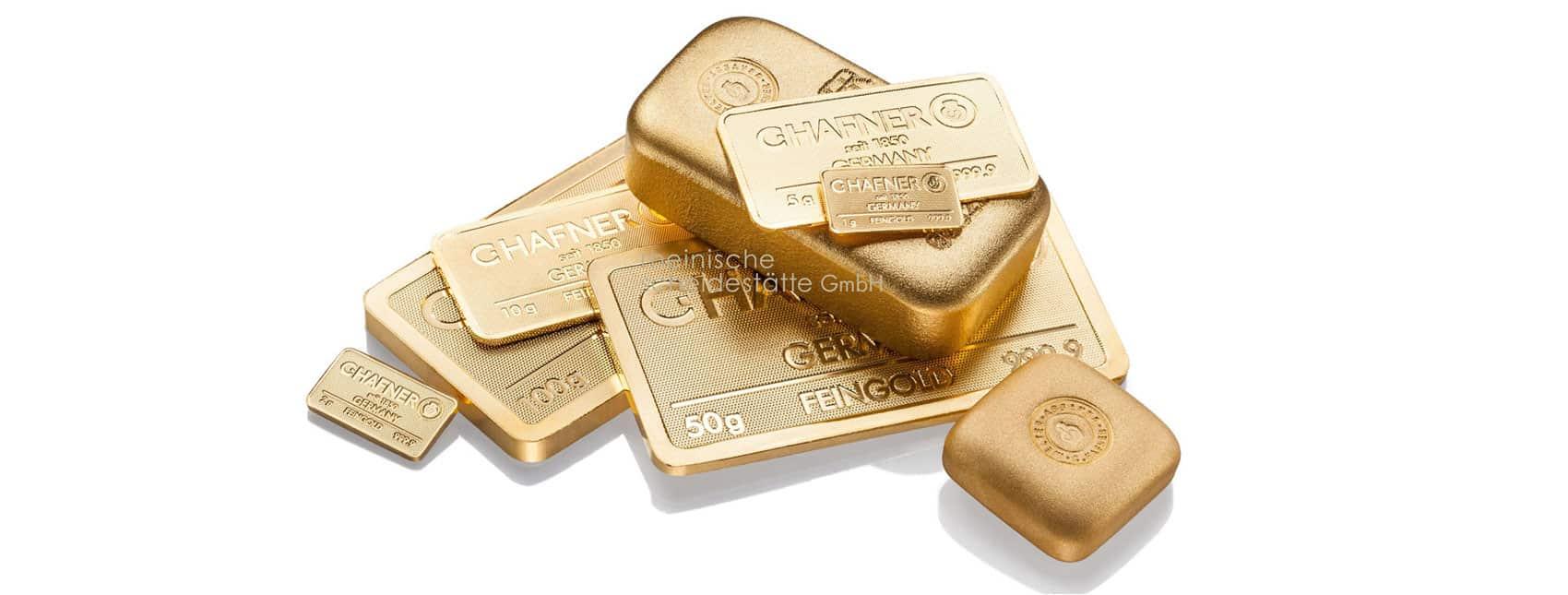 Goldbarren kaufen anonym