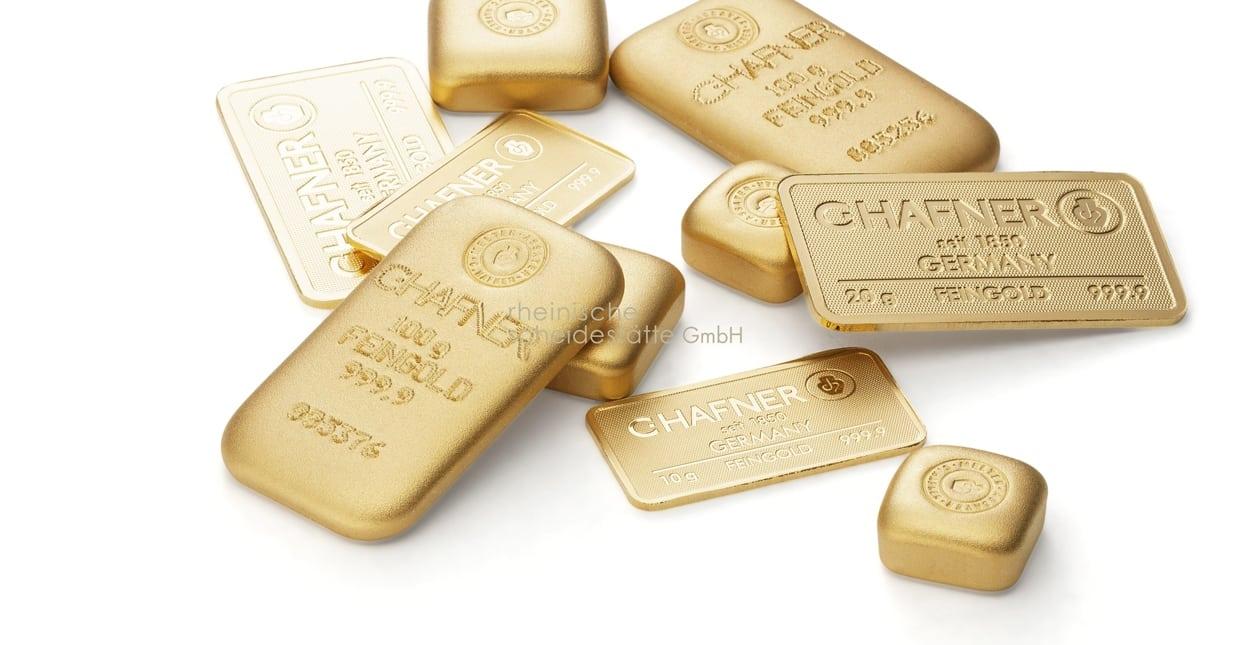 Goldbarren verkaufen Vergleich