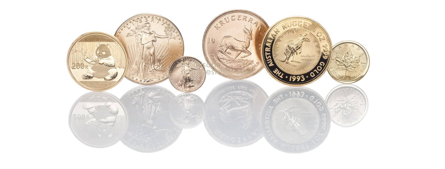 Goldmünzen kaufen Angebote
