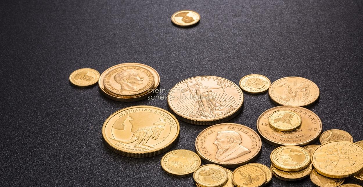 Goldmünzen verkaufen Preise