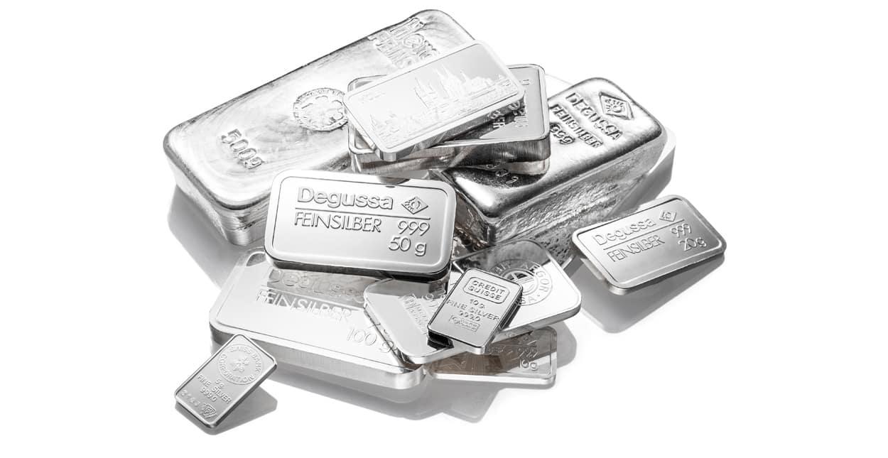 Silber kaufen Barren