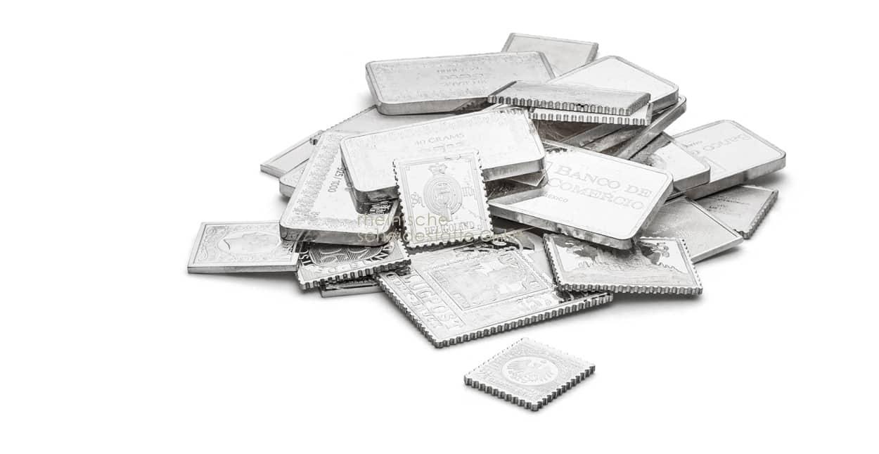 Silber kaufen Barregrößen