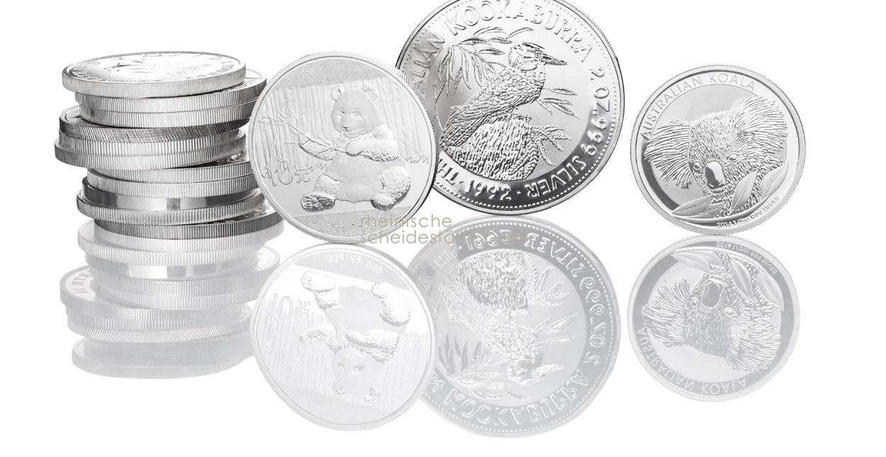 Silber kaufen Münzen