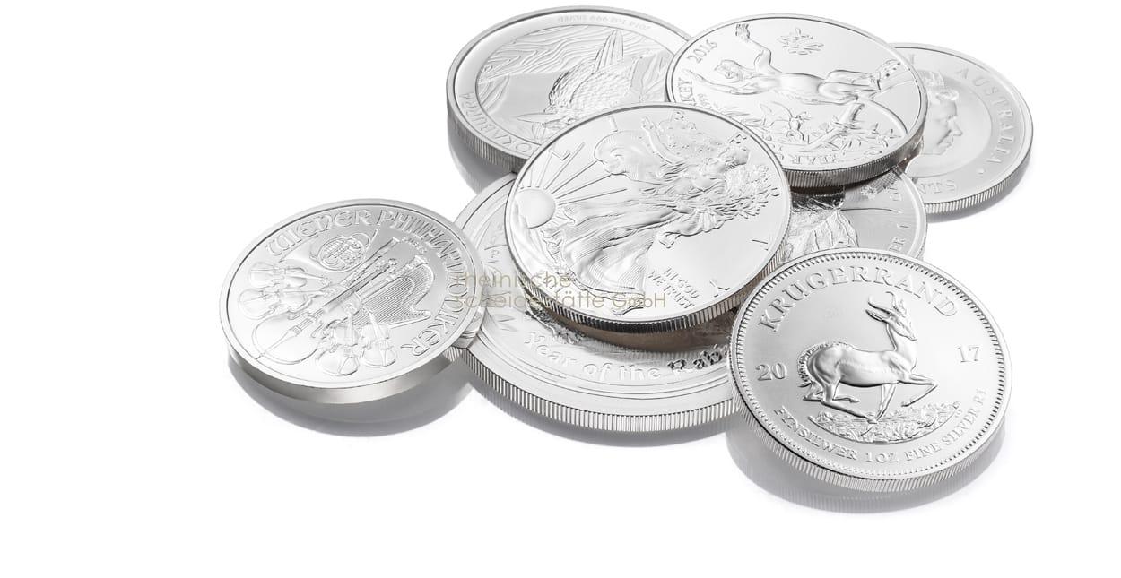Silber verkaufen Münzen
