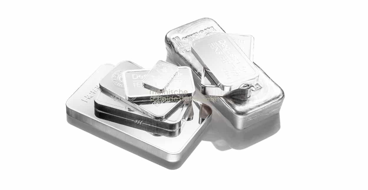 Silberbarren verkaufen