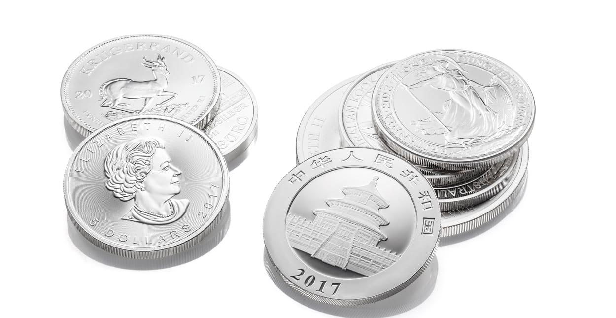 Silbermünzen verkaufen Ankauf