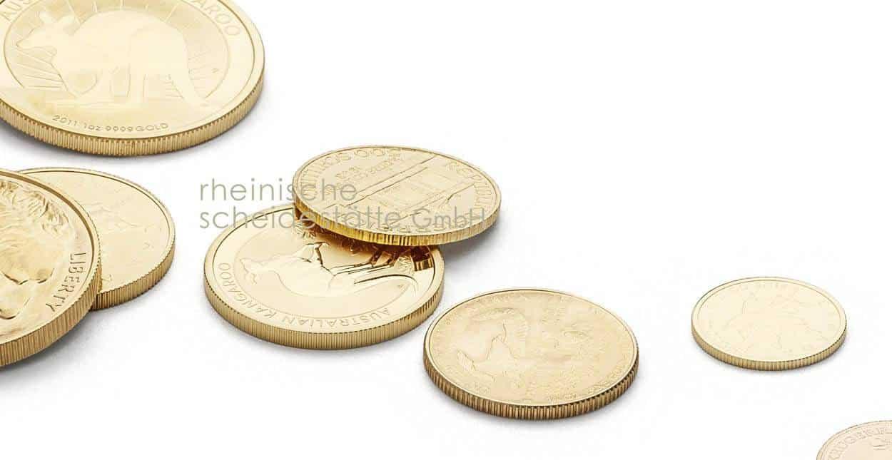 Goldmünzen verkaufen Frankfurt