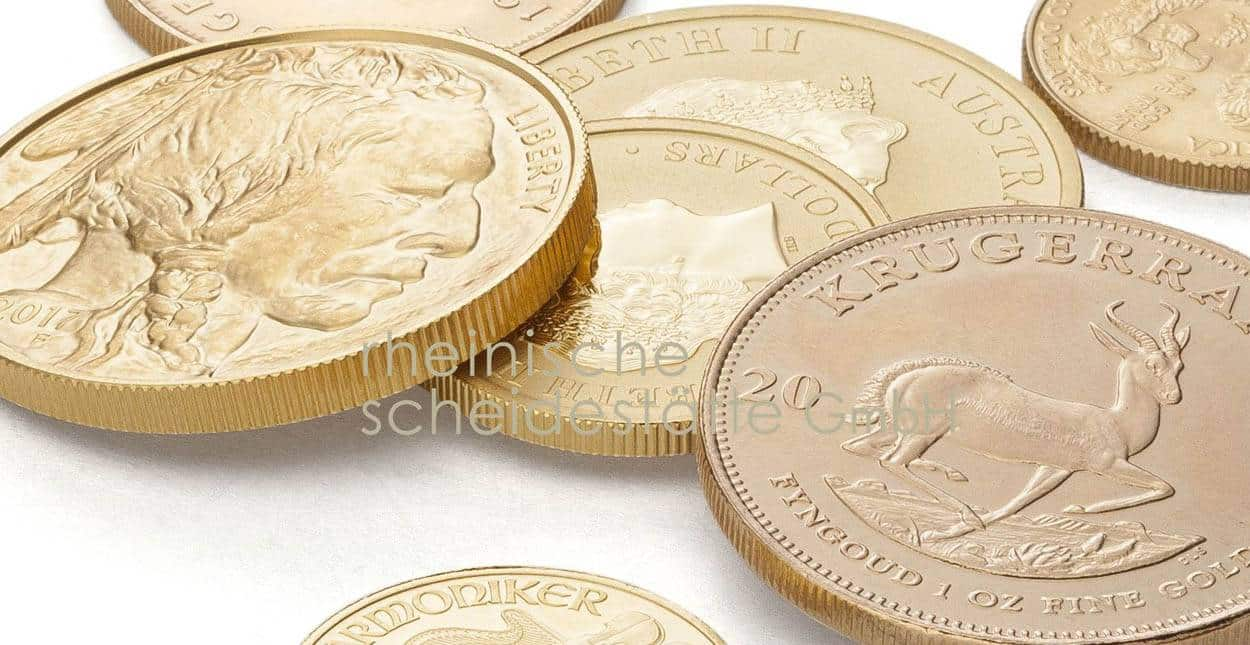 Goldmünzen verkaufen Frankfurt Ankauf