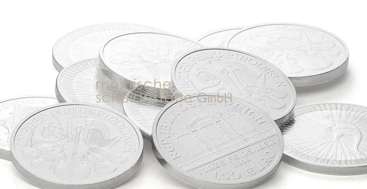 Silbermünzen verkaufen Frankfurt