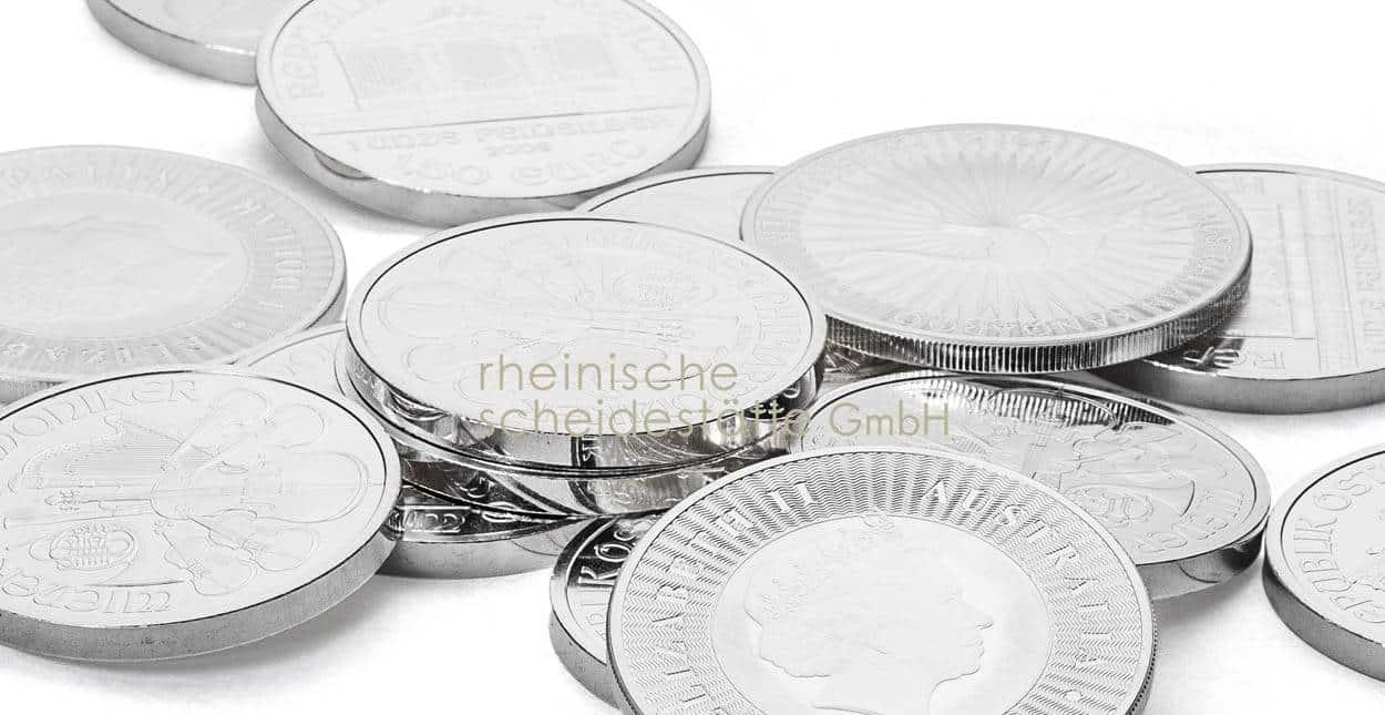Silbermünzen verkaufen Frankfurt Preis
