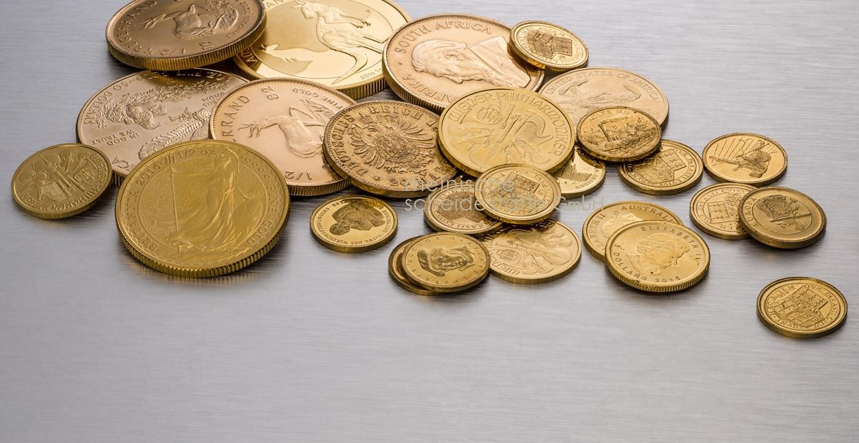 Goldmünzen kaufen Essen