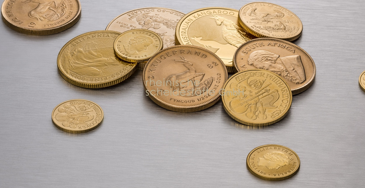 Goldmünzen kaufen Essen Preis