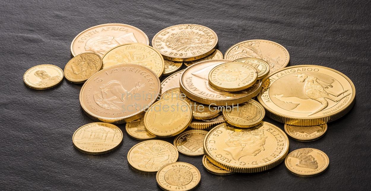 Goldmünzen verkaufen Essen Ankauf