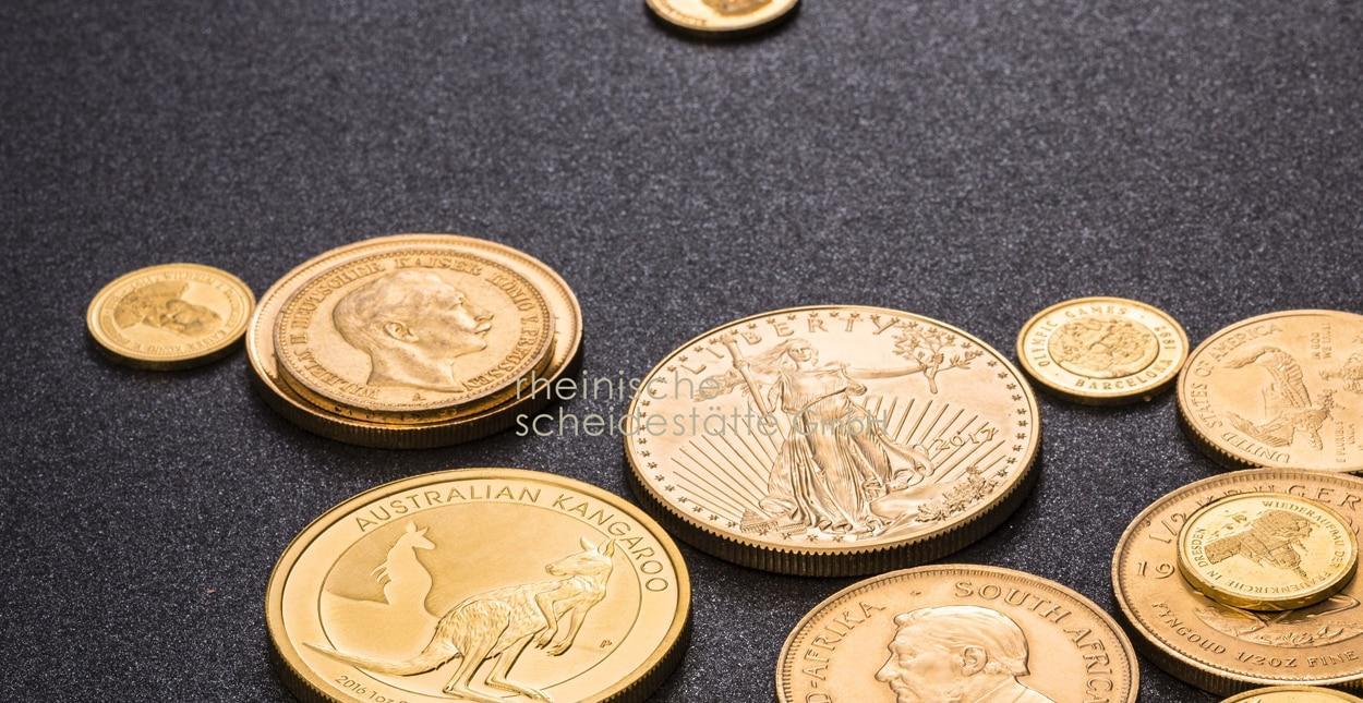Goldmünzen verkaufen Essen Handel