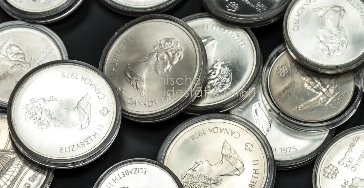 Silbermünzen verkaufen Essen