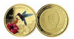 1oz dominica hummingbird colored