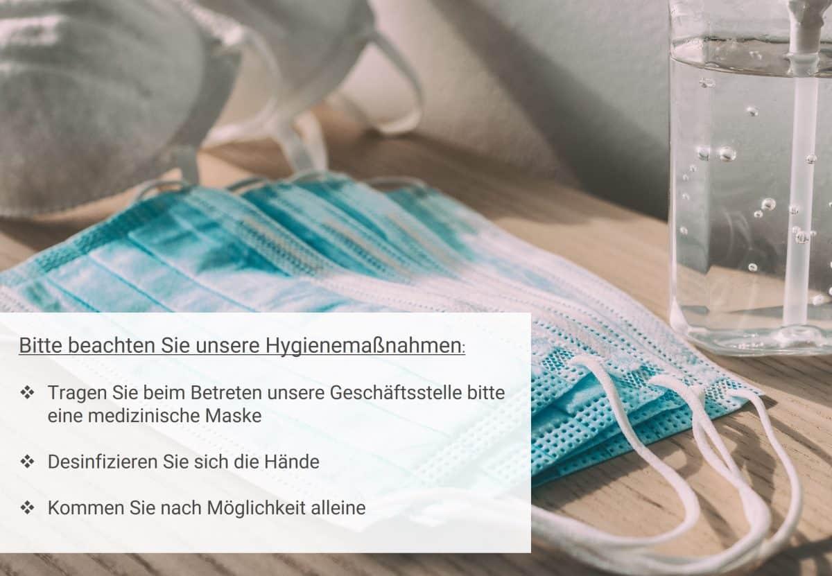 Hygienemaßnahmen RS