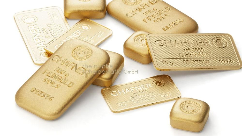 Goldbarren verkaufen Aachen Bild