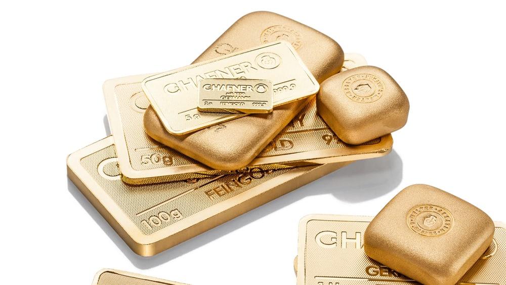 Goldbarren verkaufen Aachen Foto