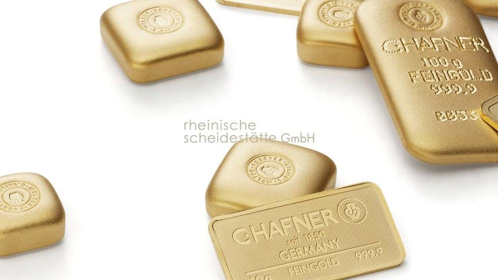 Goldbarren verkaufen Berlin Bild