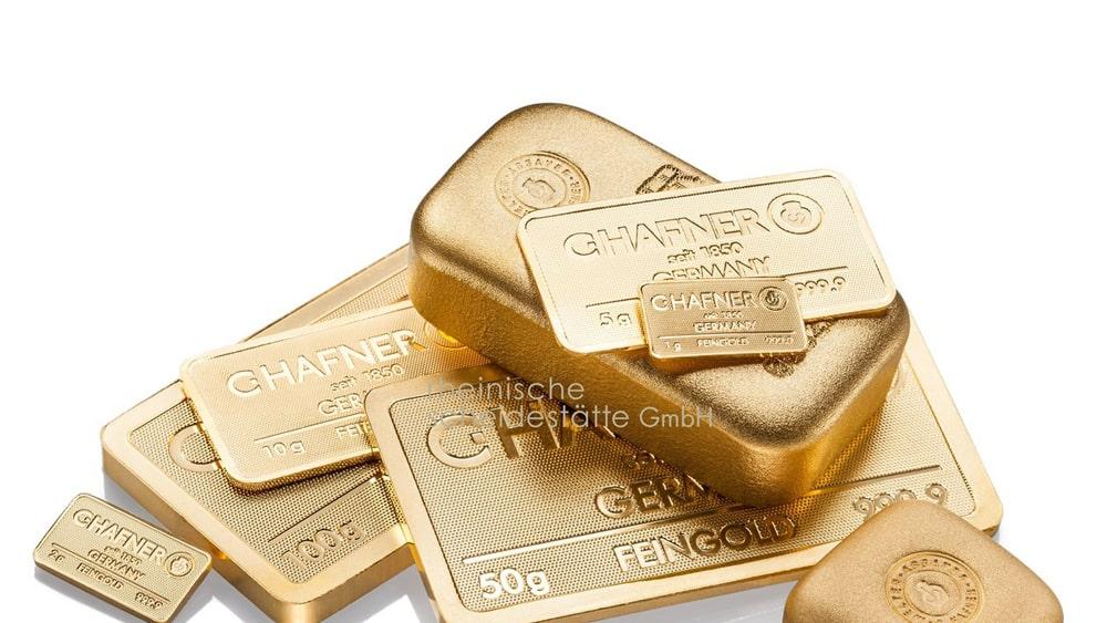 Goldbarren verkaufen Berlin Image