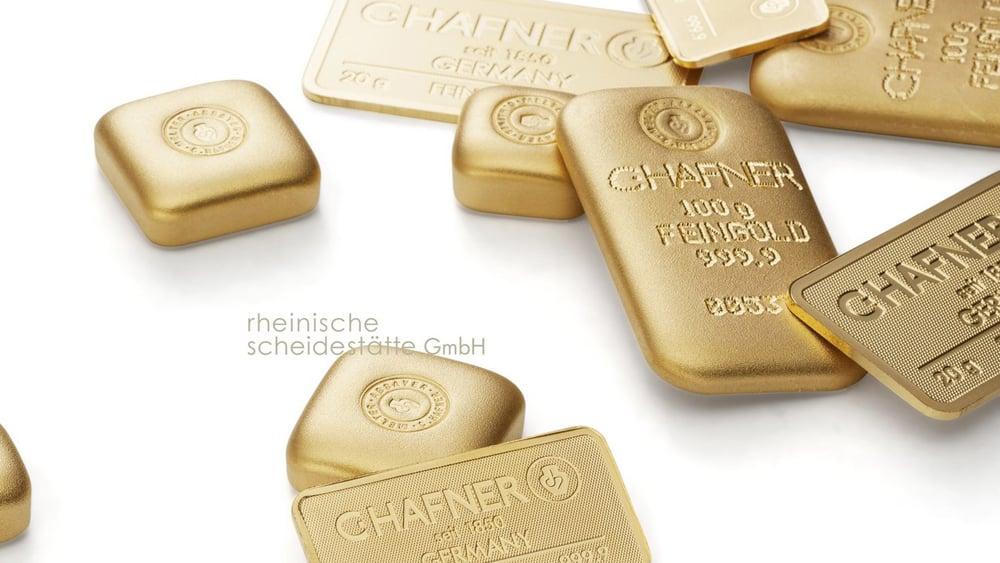 Goldbarren verkaufen Düsseldorf Bild