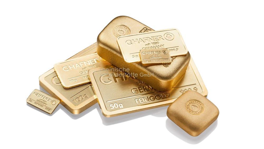 Goldbarren verkaufen Düsseldorf Image