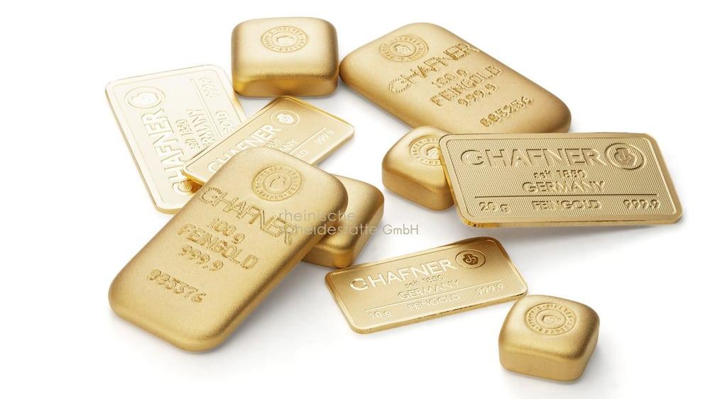 Goldbarren verkaufen Münster Bild