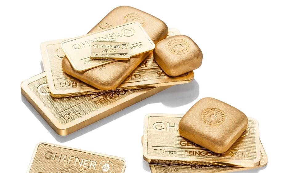 Goldbarren verkaufen Münster Foto