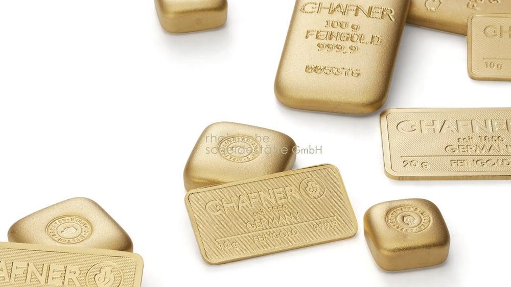 Goldbarren verkaufen Münster Image