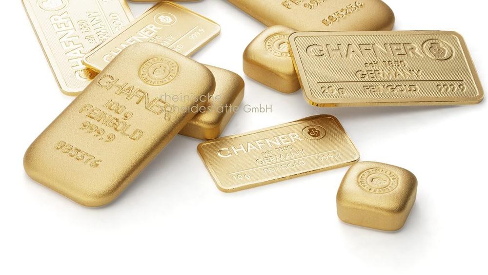 Goldbarren verkaufen Trier Bild