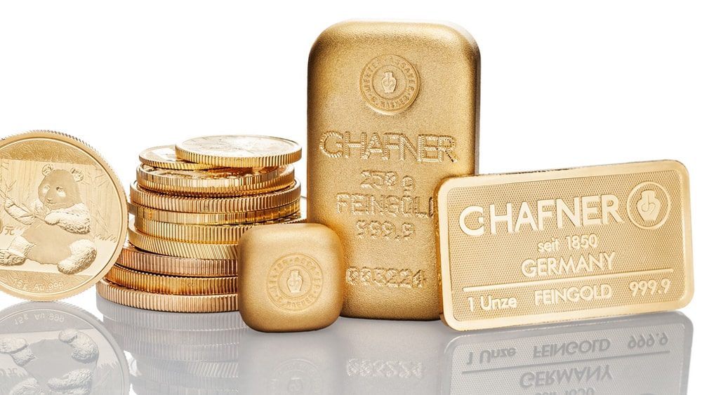 Goldbarren verkaufen Trier Foto