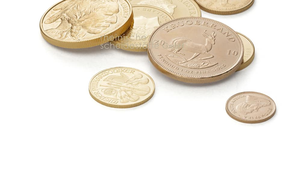 Goldmünzen verkaufen Aachen Bild