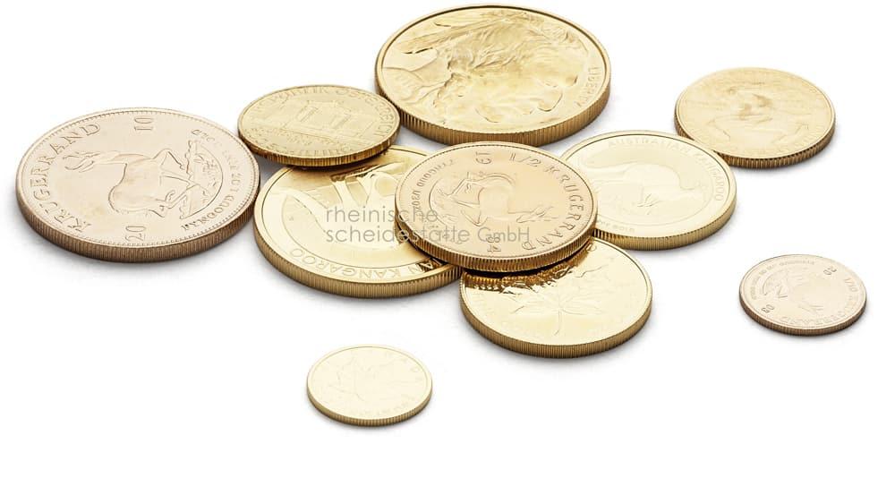 Goldmünzen verkaufen Aachen Foto