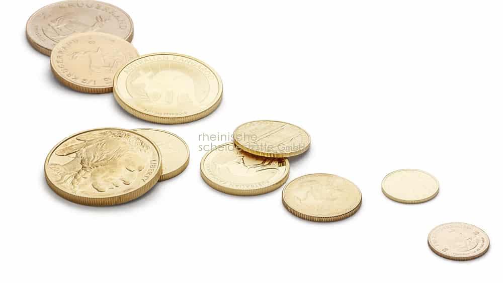 Goldmünzen verkaufen Aachen Image
