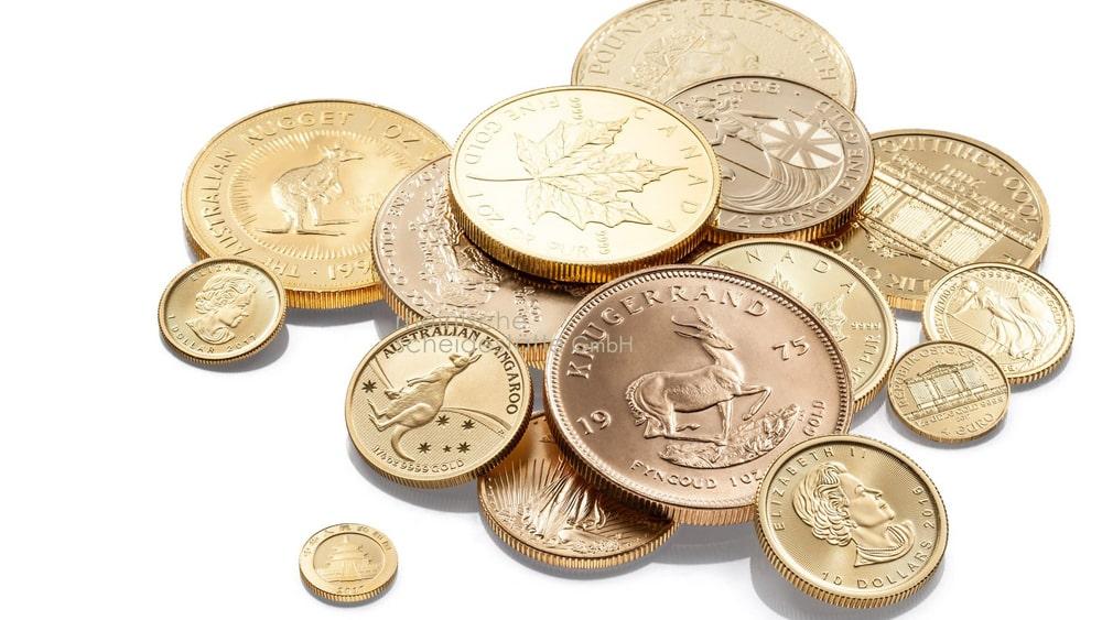 Goldmünzen verkaufen Berlin Bild